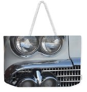 Lights On A '58 Chevy Weekender Tote Bag