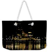 Lights On History Weekender Tote Bag