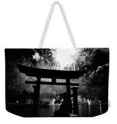 Lights Over Japan Weekender Tote Bag
