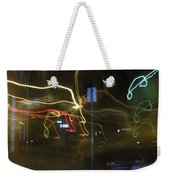 Lights That Attack Cars Two Weekender Tote Bag