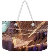 Lights That Dance Together Weekender Tote Bag