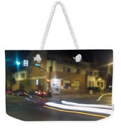 Lights That Race Weekender Tote Bag
