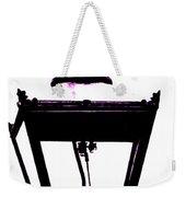 Lightshade In A Hint Of Purple Weekender Tote Bag