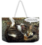Like A Cat Weekender Tote Bag