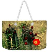 Like A Little Red Star Weekender Tote Bag