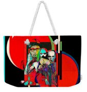Like Burrow In It's Abstract Burroughs The Word On It's Side Weekender Tote Bag
