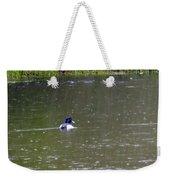 Like Rain Off A Ducks Back Weekender Tote Bag