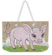 Lil Piglet Weekender Tote Bag