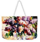 Lilac - Morning Mood Weekender Tote Bag