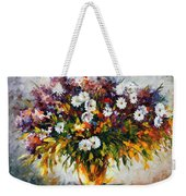 Lilac And Camomiles Weekender Tote Bag