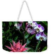 Lilac And Pink Weekender Tote Bag