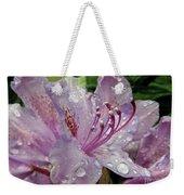Lilac Azalea Weekender Tote Bag