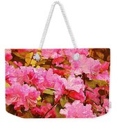 Lilac Candy Weekender Tote Bag