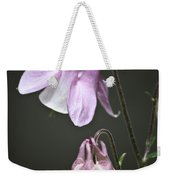 Lilac Columbine 3 Weekender Tote Bag