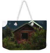 Lilac Cottage By Moonlight Weekender Tote Bag