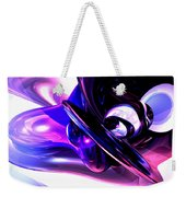 Lilac Fantasy Abstract Weekender Tote Bag