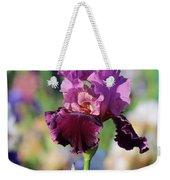Lilac Iris In Bloom Weekender Tote Bag