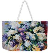 Lilac New Weekender Tote Bag