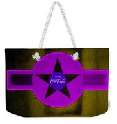Lilac On Orange Weekender Tote Bag