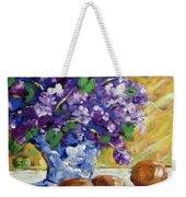 Lilac Weekender Tote Bag