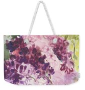 Lilacs - Note Card Weekender Tote Bag