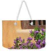 Lilacs And Adobe Weekender Tote Bag