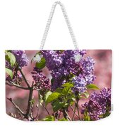 Lilacs And Dogwoods Weekender Tote Bag