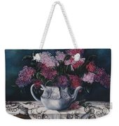 Lilacs And Lace Weekender Tote Bag