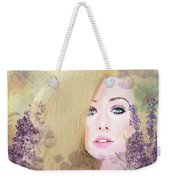 Lilacs And Lavender Weekender Tote Bag