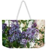 Lilacs In Spring Weekender Tote Bag