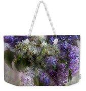 Lilacs Of Love Weekender Tote Bag