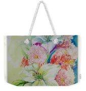 Lilies And Mums Weekender Tote Bag