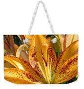 Lilies Art Prints Orange Lily Flowers 2 Gilcee Prints Baslee Troutman Weekender Tote Bag