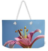 Lilies Art Prints Pink Lily Flower Giclee Art Prints Baslee Troutman Weekender Tote Bag