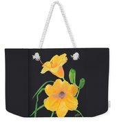 Lilies Of September Weekender Tote Bag