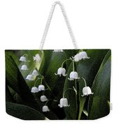 Lilies Of The Valley - Watercolor Weekender Tote Bag