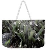 Lilies Of The Valley Mindscape No 2 Weekender Tote Bag