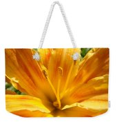 Lilies Orange Yellow Lily Flower 1 Giclee Art Prints Baslee Troutman Weekender Tote Bag