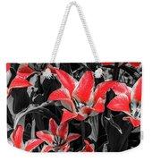 Lilies With A Splash Of Color Weekender Tote Bag