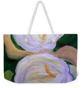 Lilies With Chiffon Weekender Tote Bag