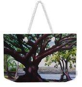 Liliuokalani Park Tree Weekender Tote Bag