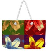Lillies Of Four Weekender Tote Bag