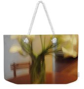 Lillies On The Table Weekender Tote Bag