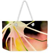 Lilly Flower Pastel Weekender Tote Bag