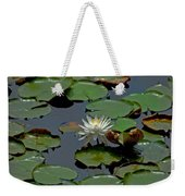 Lilly On The Pad Weekender Tote Bag