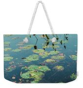 Lilly Pad In Pond  Weekender Tote Bag