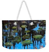 Lilly Pads And Reflections Weekender Tote Bag