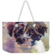 Lilly Pup Weekender Tote Bag