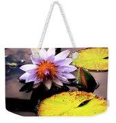 Lillypad In Bloom Weekender Tote Bag