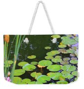 Lillypads And Cattails Weekender Tote Bag